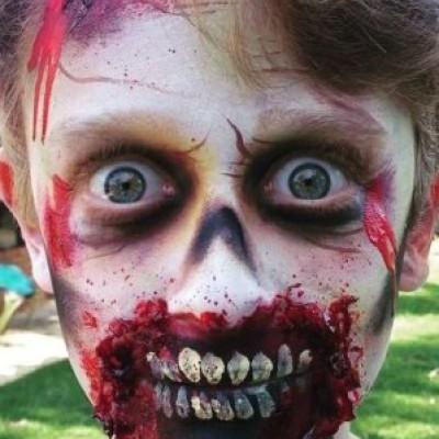 Costume Make-up: Awaken the Zombie